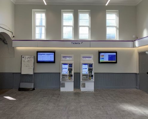 Booking Hall After