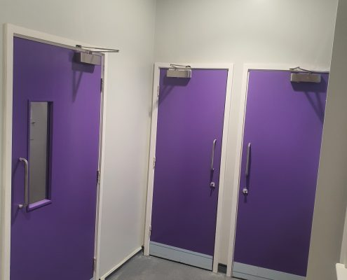 LOCROS Four Station Project doors