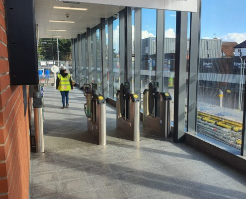 LOCROS Four Station Project ticket exit